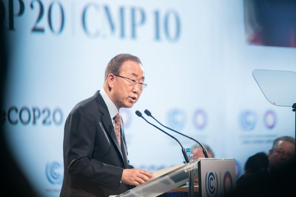 Ban-Ki-Moon, Secretario general de las Naciones Unidas
