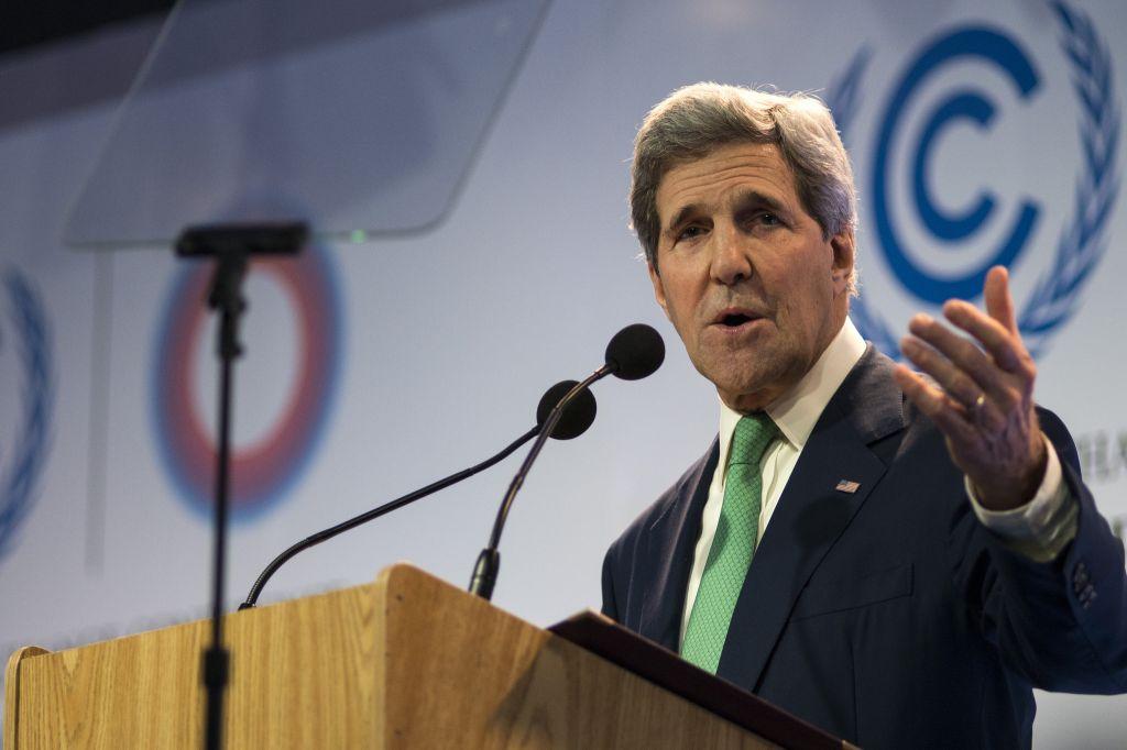 Jhon Kerry, Secretario de Estado de los Estados Unidos