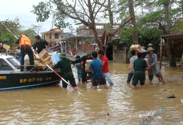 Inundaciones en Ho Chi Minh