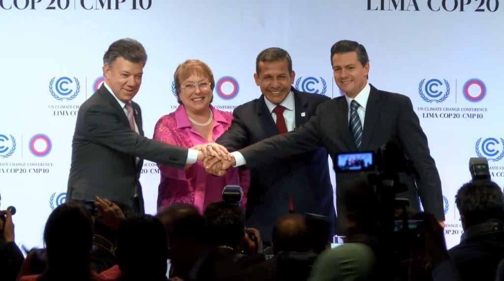 presidentes alianza pacífico