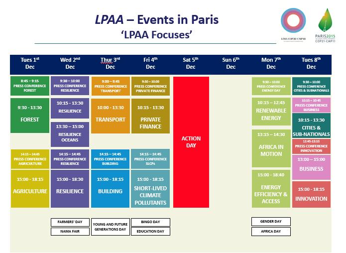 LPAA Calendar F